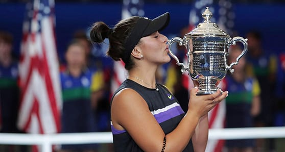 For the indomitable Andreescu, it's mind over matter