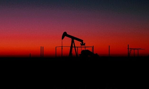 Crude oil prices are soaring as production slows
