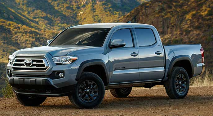 2021 Toyota Tacoma built for weekend warriors