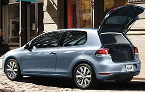 The2010 Volkswagen Golf is one of the better-handling models in this end of the market.