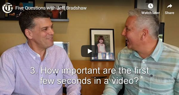 Five Questions with Jeff Bradshaw