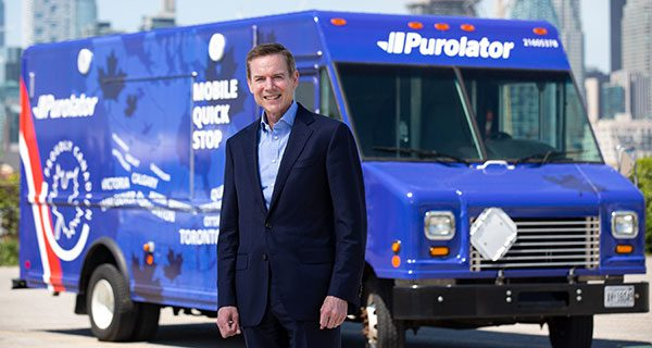 Purolator plans to invest $1 billion in Canadian operations