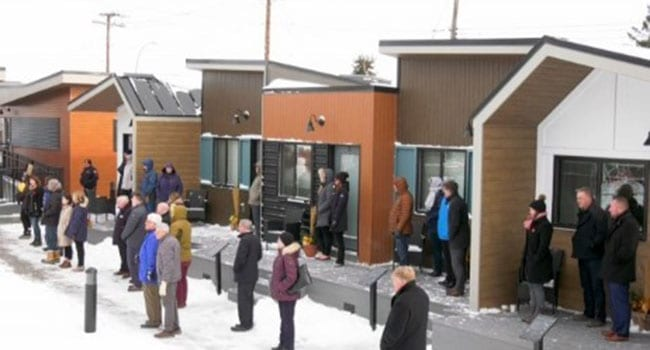 Village launched in Calgary for homeless vets