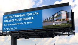 Industrial real estate campaign takes cheeky tone