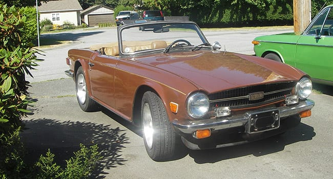 My enduring love affair with a 1976 Triumph TR6