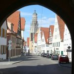 View from a gate at Noerdlingen, Germany - Photo courtesy of Romantic Road Tourist Association