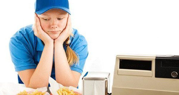 Minimum wage prices low-skilled workers out of a job