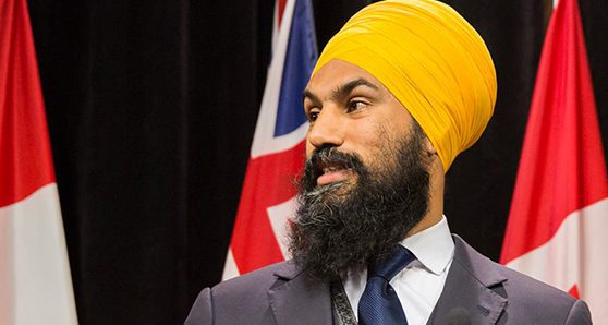 Jagmeet Singh is opposed to a coalition with the Tories…or is he?