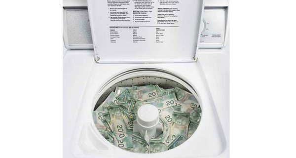 Laundered money is a key cog in our economy