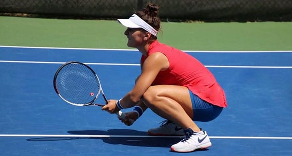Bianca Andreescu proves she's adept on and off the court