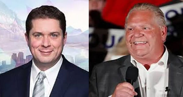 Will Doug Ford campaign with Andrew Scheer this fall?