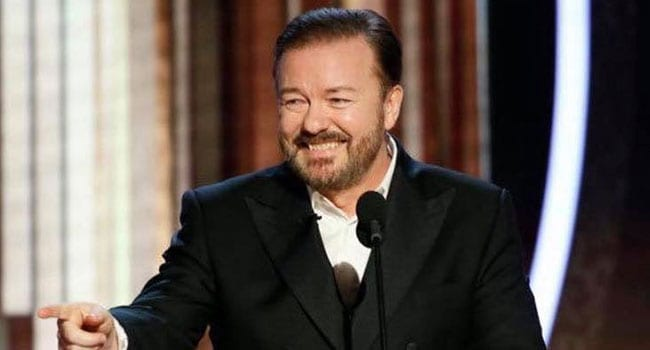 Cheers to Ricky Gervais