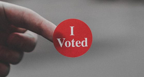 Canadians among the few privileged to vote
