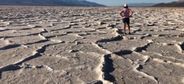 Death Valley, California. Hotter than Hades