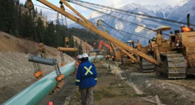 transmountain pipeline