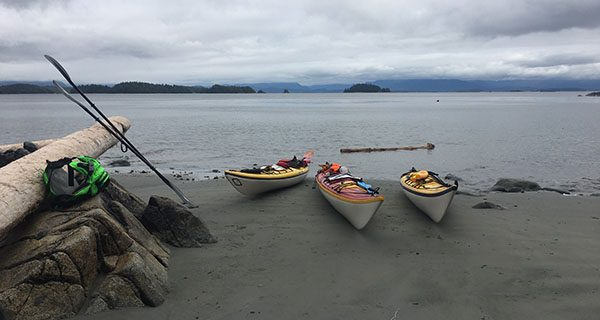 Taking the anxiety out of long crossings in a kayak