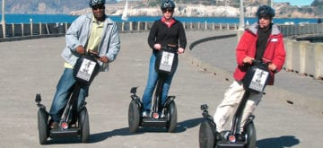 Is the transportation world segueing to Segways?