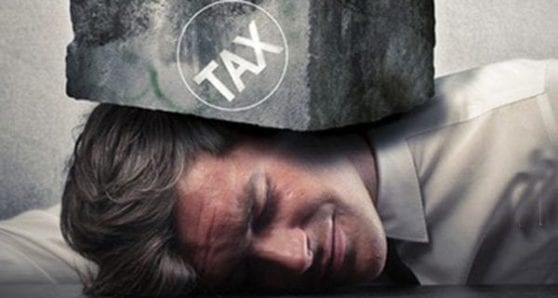 Canadian governments addicted to personal income tax