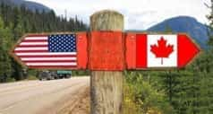 Canada US border and trade