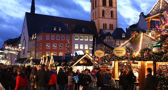 German Christmas market in Trier