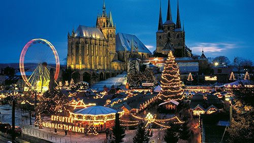 Christmas dream routes through East Germany