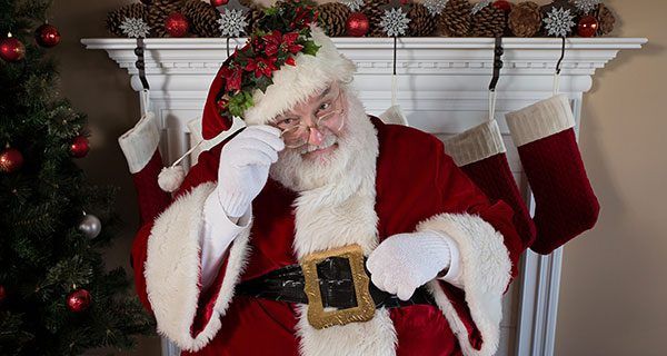 How Santa knew if you were naughty or nice