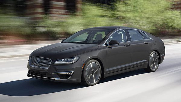 The MKZ: not your father's Lincoln