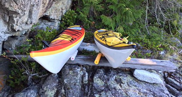 Geared up for another kayak adventure on the B.C. coast