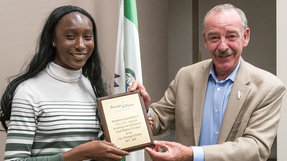 City honours Youth Member