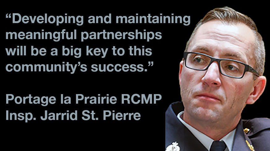 New RCMP Inspector says community policing is teamwork