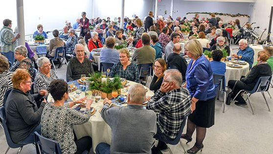 Record attendance for Sunset Palliative Care Christmas Dinner of Hope