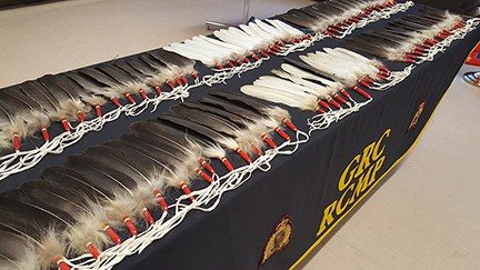 Manitoba RCMP accepts eagle feather option for swearing legal oaths