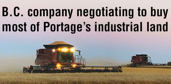 Portage in negotiations to sell most of its zoned industrial land