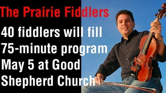 The Prairie Fiddlers Concert annual concert Sunday