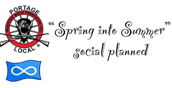 """MMF Portage Local plans """"Spring into Summer"""" social"""