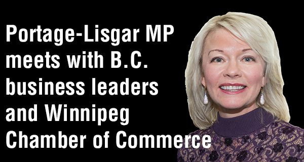 Portage-Lisgar MP talks small business and environment during B.C. trip