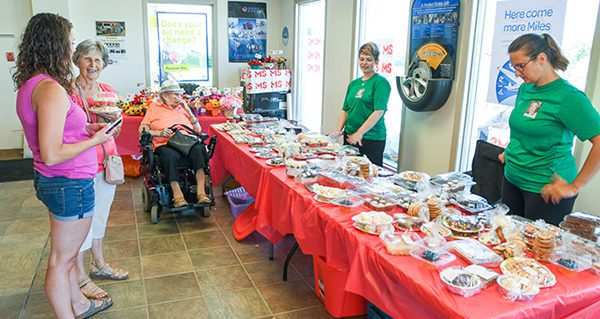 Fundraiser to End MS again raises over $5,000