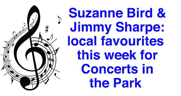Concerts in the Park brings two more favourites this week
