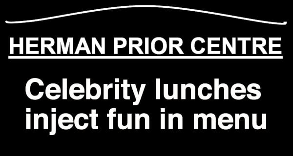 Celebrity Luncheons making lunchtime fun