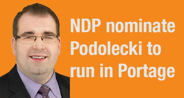 NDP offer up parachute candidate to fill slate