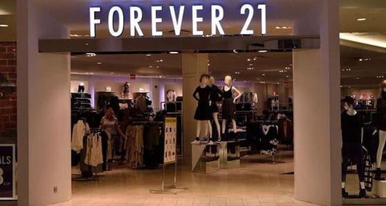 Fashion retailer Forever 21 closing its Canadian stores