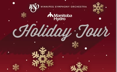 Winnipeg Symphony Orchestra here Dec. 11 on Holiday Tour