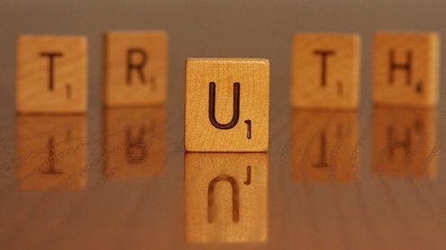 Truth will triumph – but not without our help
