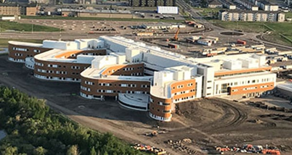 Province issues notice to contractor of $730-million hospital project