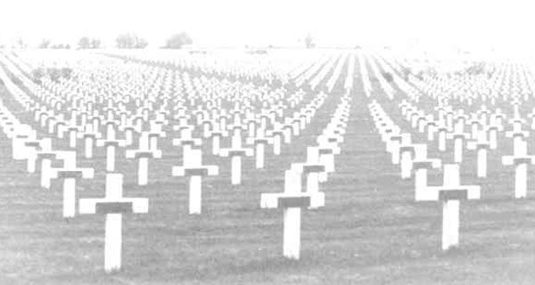 'Countless white crosses' a century later