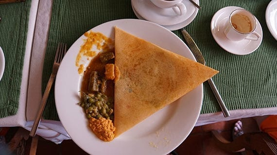 Immersed in the zesty flavours of Kerala, India