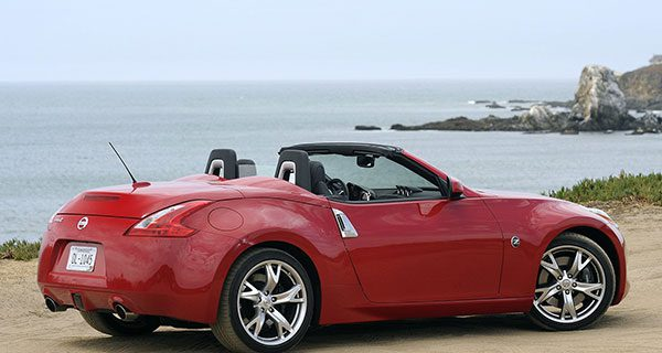 Top-down fun and performance with Nissan 370Z Roadster