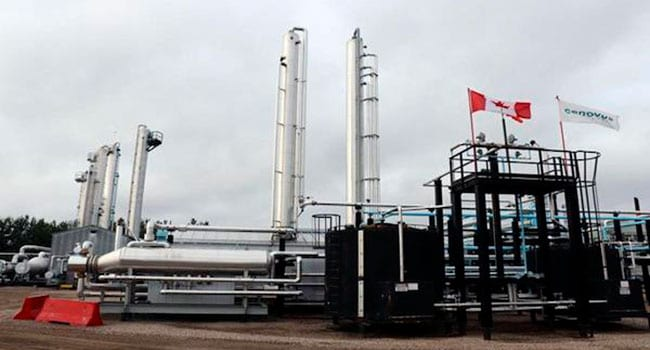 Cenovus Energy net earnings $187 million in quarter
