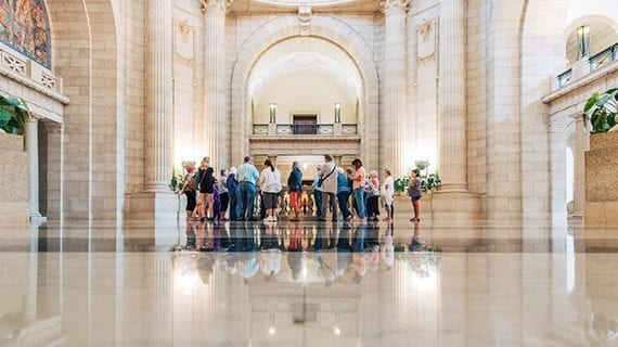 Eats, eccentrics and relaxation in Calgary and Winnipeg tours
