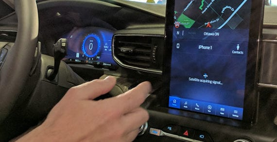 Ford introduces its enhanced SYNC 3 infotainment system